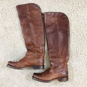Frye Tall Over-the-Knee Leather Boots